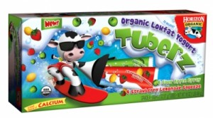 Organic Yogurt Squeeze Tube