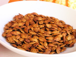 Pumpkin seeds have it all: Minerals, essential fats, fiber, protein