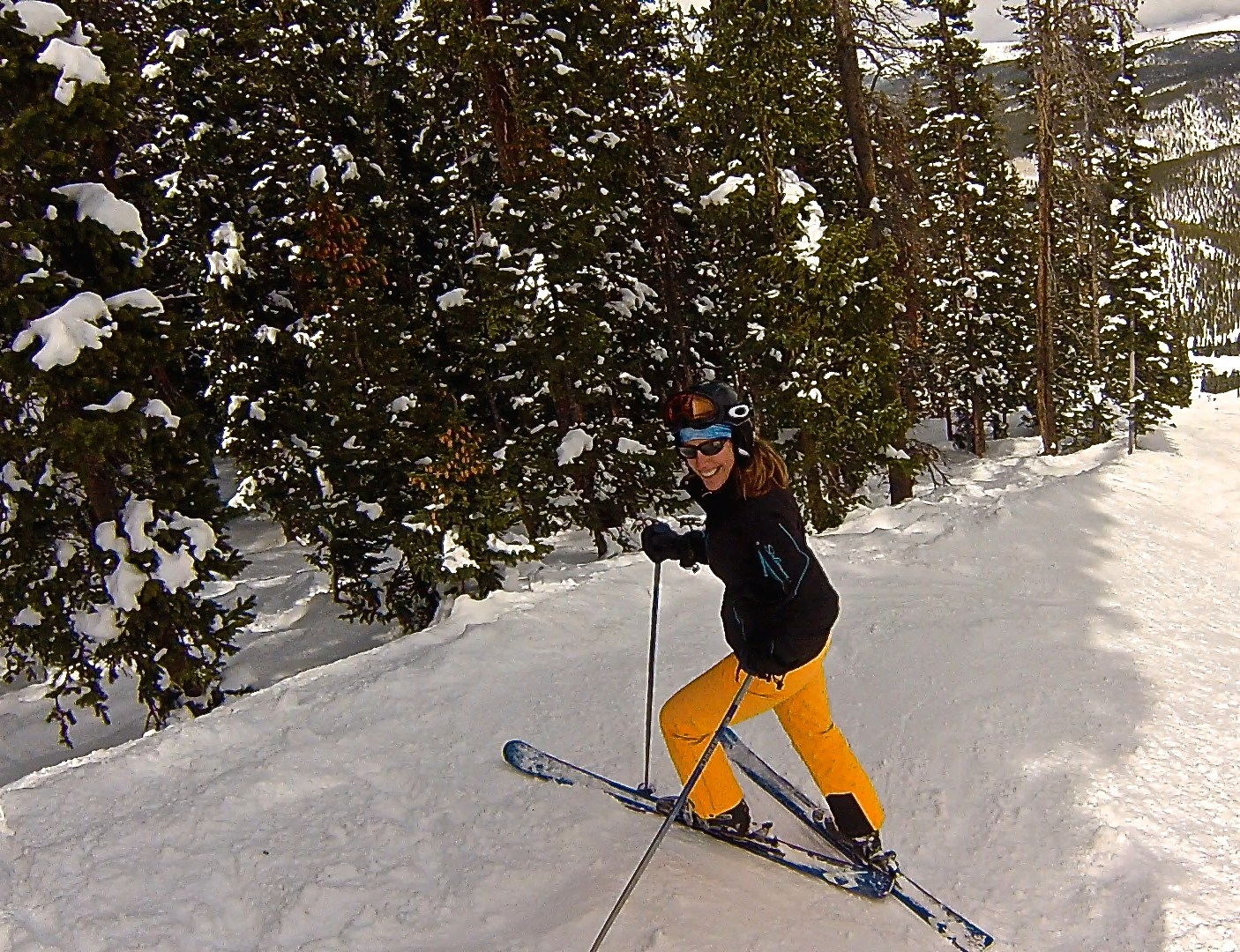Gratitude: Back on the slopes at Winter Park, Colorado, April 2014